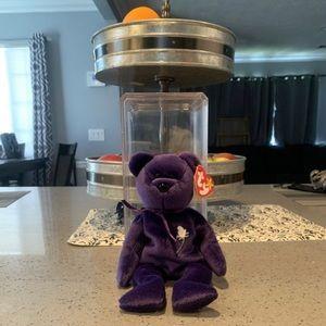 Ty Other - Princes Diana Bear Beanie Baby( 1st generation)